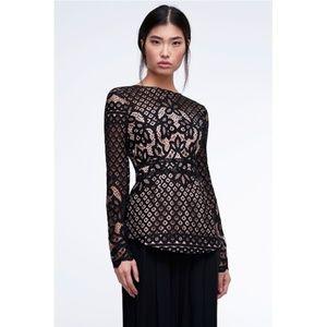 Stylestalker Lani Top Lace long sleeve S